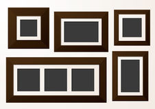 Gallery Photo Frames Stock Image