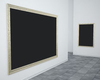 Gallery Picture Frames Royalty Free Stock Images