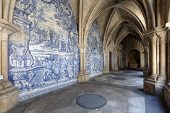 Gallery of the Porto Cathedral Royalty Free Stock Photo