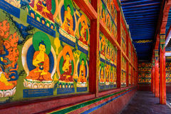 The Gallery of Potala Palace Stock Photography