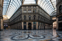 Gallery Principe Umberto I Stock Photo