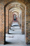 Gallery of Repetitive Arches Royalty Free Stock Photo