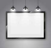 Gallery room Stock Photography