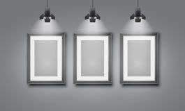 Gallery room Royalty Free Stock Photo