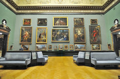 Gallery room of Kunsthistorisches Museum (Museum of Art Histor royalty free stock photos