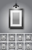 Gallery room Royalty Free Stock Image