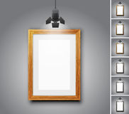Gallery room Royalty Free Stock Photos
