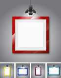 Gallery room Stock Images