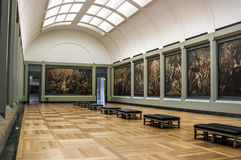 The gallery of Rubens Royalty Free Stock Photos