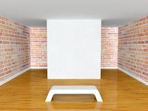 Gallery's hall Stock Photo
