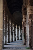 Gallery at the Teatro Marcello in Rome Royalty Free Stock Images