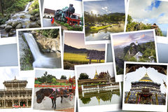 Gallery tourist attraction Lampang Province Stock Image