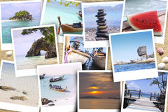 Gallery tourist attraction Lipe island Royalty Free Stock Image