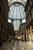 Gallery umberto I Stock Photography