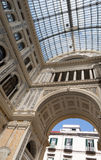The gallery Umberto I, Naples, Italy Royalty Free Stock Image