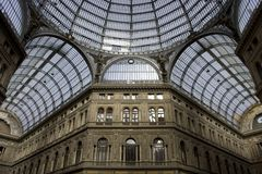 Gallery Umberto Naples. Gallery Umberto in Naples (Italy royalty free stock images