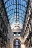 The  gallery Umberto in Naples Stock Photo