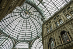 Gallery Umberto, Naples, Italy Royalty Free Stock Photos