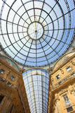 Gallery Vittorio Emanuele II, the ceiling Royalty Free Stock Photography