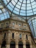 Gallery Vittorio Emanuele II in Milan, Italy Royalty Free Stock Photos