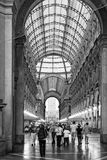 Gallery Vittorio Emanuele II Royalty Free Stock Photos