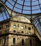 Gallery Vittorio Emanuele II - Milano Stock Photography