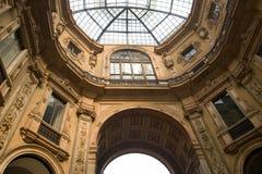 Gallery Vittorio Emmanuele II Stock Image
