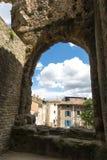 Gallery window Roman theatre Orange Royalty Free Stock Photography
