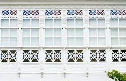Gallery windows Royalty Free Stock Image