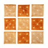 Galleta cuadrada Foto de archivo libre de regalías