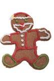 Galleta de Ginger Man Christmas. Foto de archivo libre de regalías