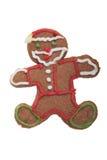Galleta de Ginger Man Christmas. Imagen de archivo libre de regalías