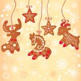 Galleta de la Navidad Foto de archivo libre de regalías