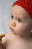 Galleta del bebé Imagenes de archivo