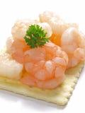 Galleta del camarón Fotos de archivo