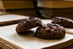 Galleta del chocolate Fotografía de archivo