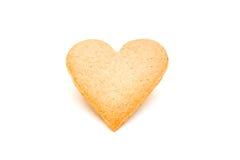 Galleta del corazón Foto de archivo libre de regalías