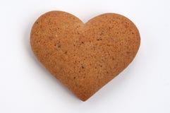Galleta del corazón Imagen de archivo libre de regalías