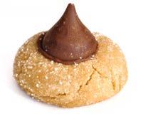 Galleta del flor de la mantequilla de cacahuete Fotos de archivo libres de regalías