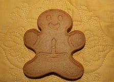 Galleta del hombre de pan de jengibre Fotos de archivo