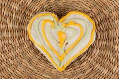 Galleta del pan de jengibre Fotografía de archivo