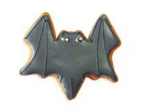Galleta del pan de jengibre de Halloween foto de archivo libre de regalías