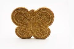 Galleta en la forma de una mariposa Imágenes de archivo libres de regalías