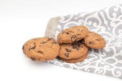 Galleta, galletas del chocolate imagenes de archivo