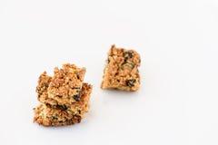 Galleta hecha en casa de la quinoa del trigo integral Fotografía de archivo
