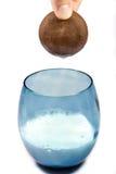 Galleta y leche Fotografía de archivo libre de regalías