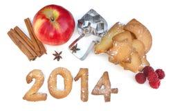 2014 galletas Foto de archivo libre de regalías