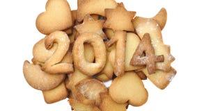 2014 galletas Fotografía de archivo