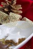 Galletas alemanas tradicionales de la Navidad Fotos de archivo libres de regalías