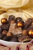 Galletas alemanas tradicionales de la Navidad Imágenes de archivo libres de regalías